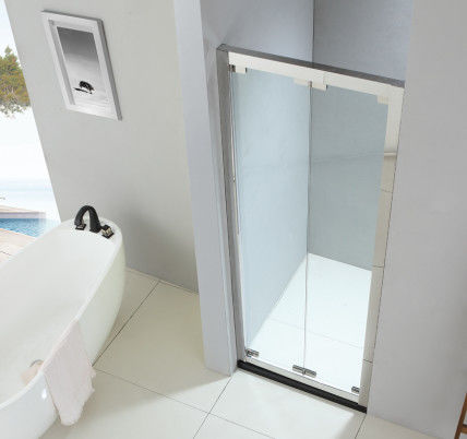 Foldable shower enclosure 800*800mm with 304 stainless steel & tempered clear glass